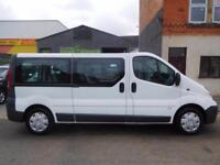 NO VAT! Vauxhall Vivaro 2.0CDTI LWB factory fitted 9 Seat minibus (6)