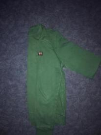 Paul & Shark Dark Green Sweater/Jumper Size L
