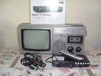 Sharp TV Radio & Cassette Player