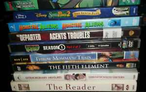 9 DVDS for sale $5 for the lot