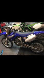2006 yz450f part out.