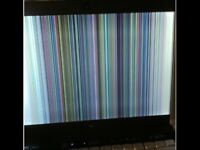 Samsung LE37R87BDX LCD HD FOR REPAIR OR PARTS a cracked fcreen