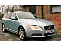 2008 VOLVO V70 SE D5 AUTOMATIC ESTATE CAR. 85,000 MILES GOOD SERVICE HISTORY