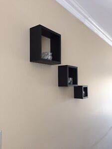 Set of Wall Hanging Shadow Boxes