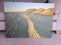 Beautiful Beach Scene Canvas