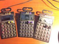 Pocket operators x3
