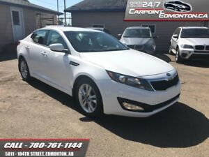 2013 Kia Optima EX..LEATHER...ONLY 27553 KMS MINT!!  AMAZING CON