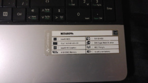 """Gateway laptop 15.6"""""""