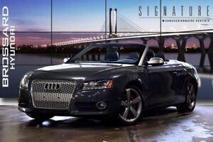 2010 Audi A5 2.0T Premium CONVERTIBLE ANGLES MORTS BAS KILO.