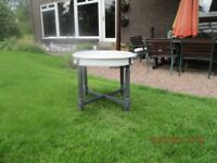 Beautiful bespoke upcycled shabby chic side/Coffee table