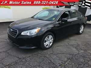 2015 Subaru Legacy 2.5i, Automatic, Back Up Camera, AWD