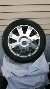 """17""""wheels and tires off Lincoln Is"""