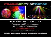 PROFESSIONAL DJ & MOBILE DISCO HIRE