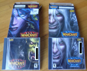 Warcraft 3 et Warcraft 3 Frozen Throne