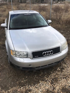 2 audi a4 for parts (2003 and 1998)