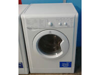 N576 white indesit 6kg&5kg 1200spin washer dryer comes with warranty can be delivered or collected