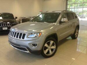 2015 Jeep Grand Cherokee Limited, 4X4, CUIR, TOIT, AUTO, FOG