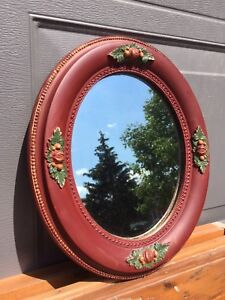 Antique, gold guilded and hand painted mirrors