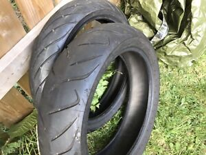 Bike Tires: 120/70/17 and 160/60/17