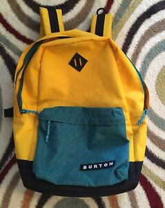Boys burton backpack and sperry shoes, clothes