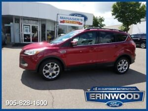 "2013 Ford Escape SEL2.0L ECOBOOST/LTHR/NAV/18"" ALLOYS"
