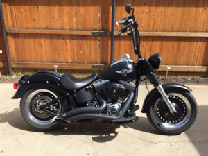 REDUCED! 2014 Fatboy lo Harley Davidson
