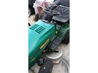 garden tractor on good condition weed eater husqvarna full working