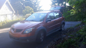 2004 Pontiac Vibe Sport - Needs work to pass inspection