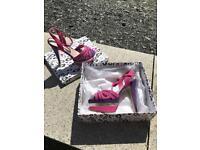 Miss K G sandal/heels