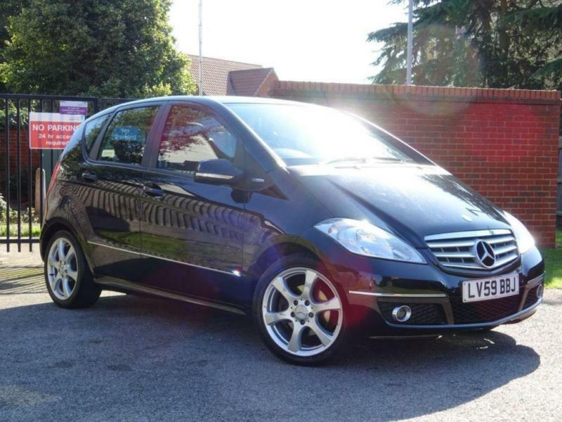 2009 59 MERCEDES-BENZ A CLASS 1.7 A180 BLUEEFFICIENCY AVANTGARDE SE 5D 116 BHP