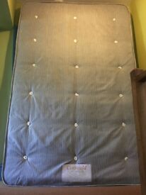 7ft Double Bed with Mattress