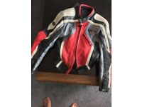 RST Motorbike Leather Jacket - Mans Small or Ladies Size 12