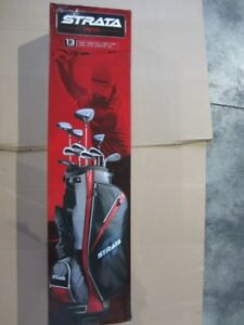 STRATA BY CALLAWAY 13 PIECES SET NEW IN BOX