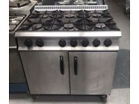Moorwood Vulcvan Gas 6 Burner cooker