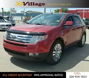 2008 Ford Edge Limited All Wheel Drive, Panoramic Sunroof, Le...