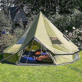 Skandika 10 man teepee tent BRAND NEW !