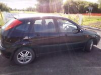 ford focus diesel turbo tdci 2002. long mot. good condition