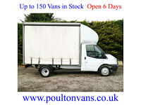 2012 (62) FORD TRANSIT T350 EF D.R.W 11' CURTAINSIDE LUTON BOX VAN 125PS