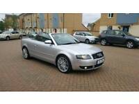 2003 audi a4 3.0 sport convertible with S4 body kit and S4 private plate stays on the car