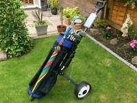 Spalding golf club set beautiful condition 45 ono