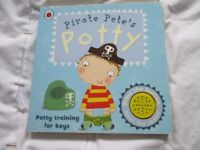 Pirate Pete potty training book