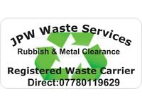 Rubbish clearance/waste clearance