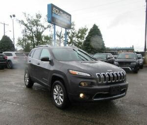 2016 Jeep Cherokee Limited  w/ Safety, Tech, Tow, Active Drive I