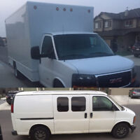 Man with Van / Driver and Truck (pick up Mover)