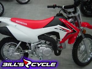 2017 HONDA Off Road CRF 110 FH   E Start Red
