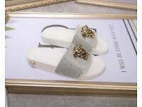 Versace slides sliders women girls