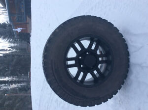 Brand new tires and rims! Barely used 1 summer!