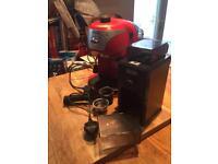Delongi coffee machine and coffee grinder