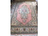 Alban Tabriz Albanian Oriental Carpet - fantastic condition