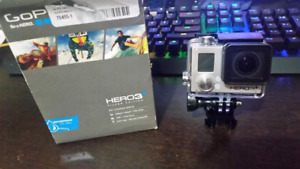 GoPro Hero 3+ Silver Edition - Like New!